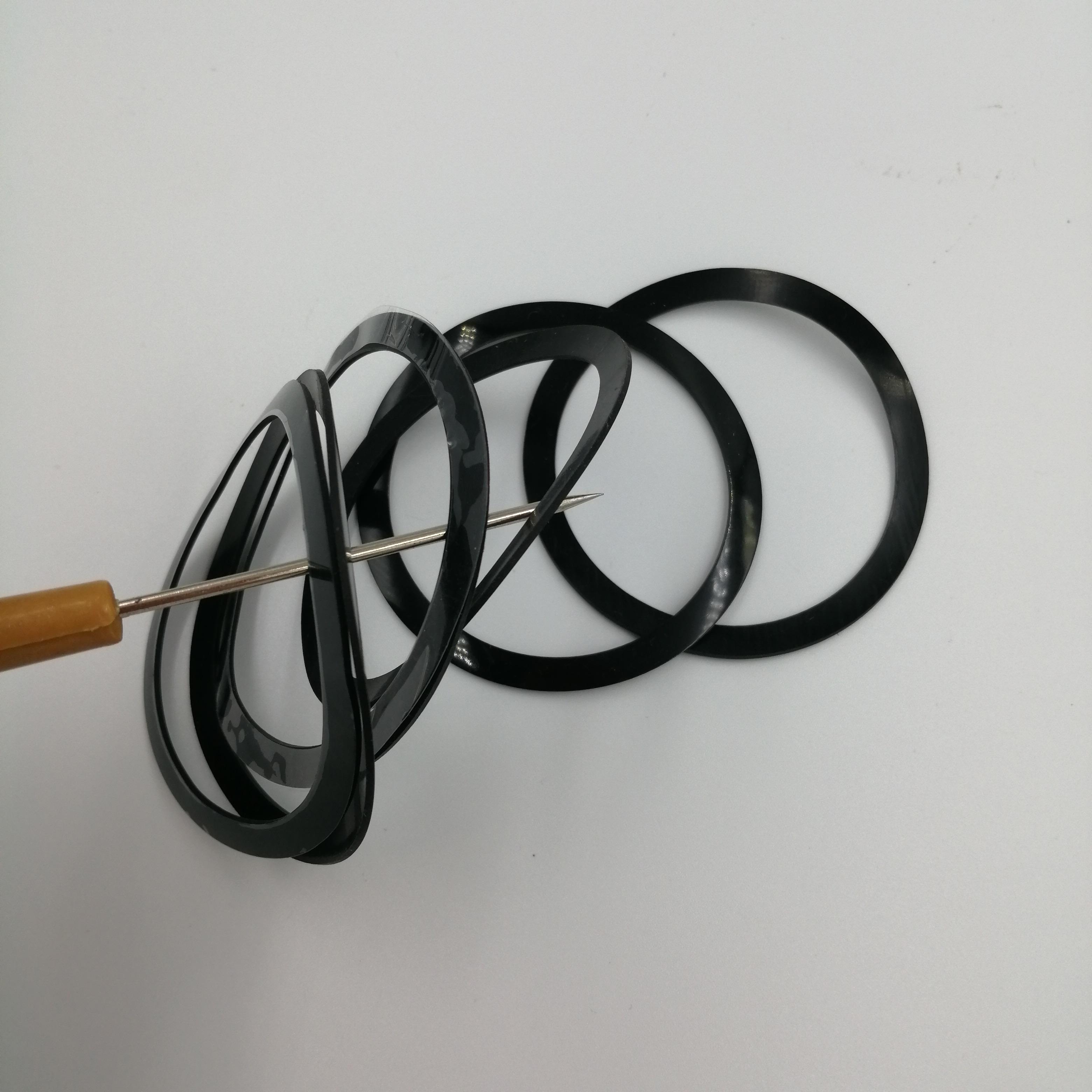 硅膠墊片 透明硅膠腳墊 圓形食品硅膠墊片 防水硅膠墊圈