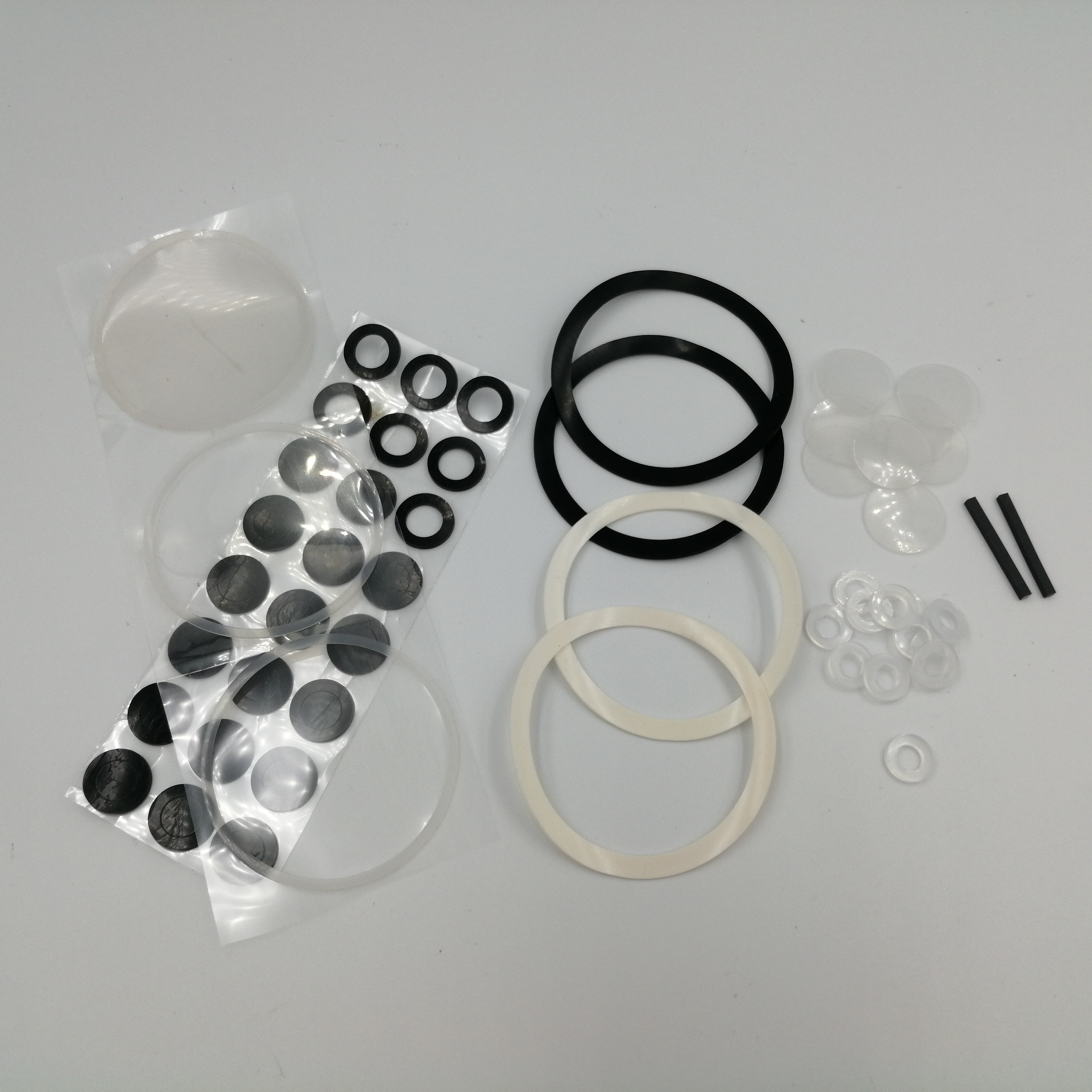 廠家定制手機支架防滑硅膠墊片網格紋硅膠腳墊透明防水密封硅膠圈