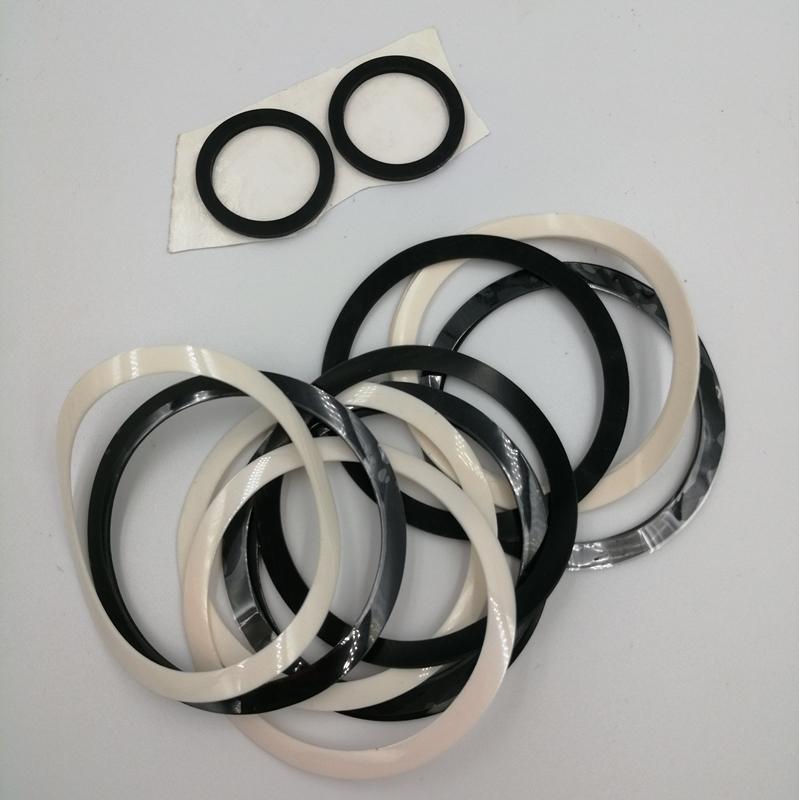 硅膠泡棉光面阻燃背膠模切沖切加工 廠家定制硅膠發泡卷材