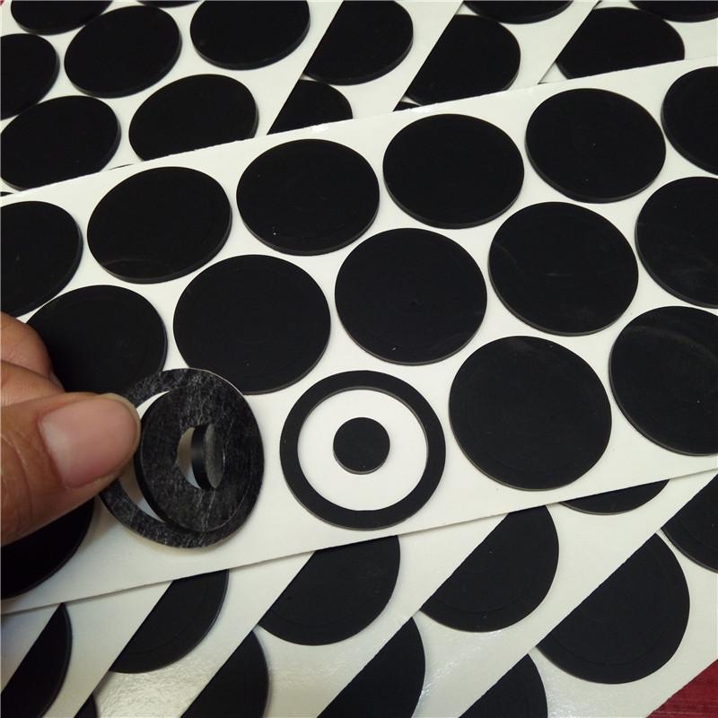 硅膠墊圈 硅膠自粘墊 本色硅膠膠墊 現貨