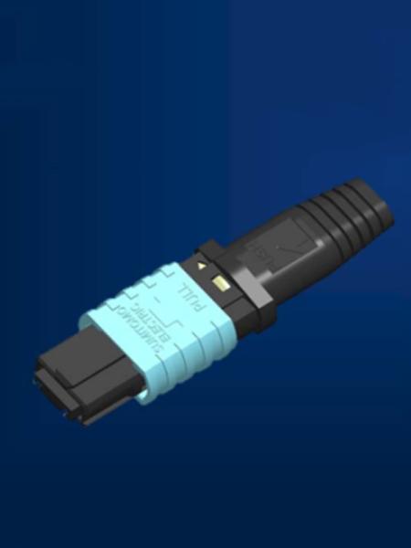MPO连接器扁平
