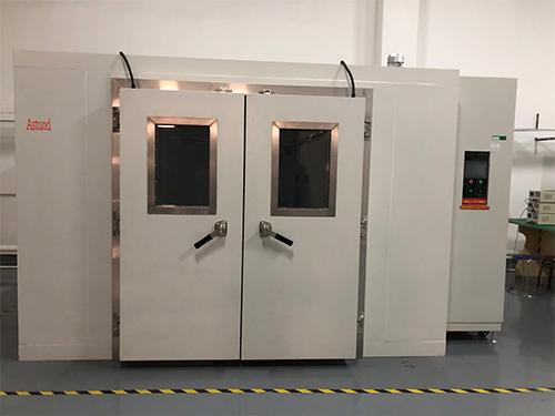 淋雨试验箱生产厂家_艾斯拓鼎_材料弯折_步入式_电池低气压