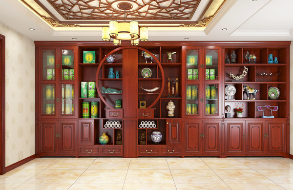 橡木室內裝修設計方案_鼎尚木業_中式_歐式復古_新中式_美式