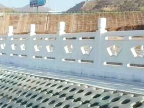 扇形河提護欄