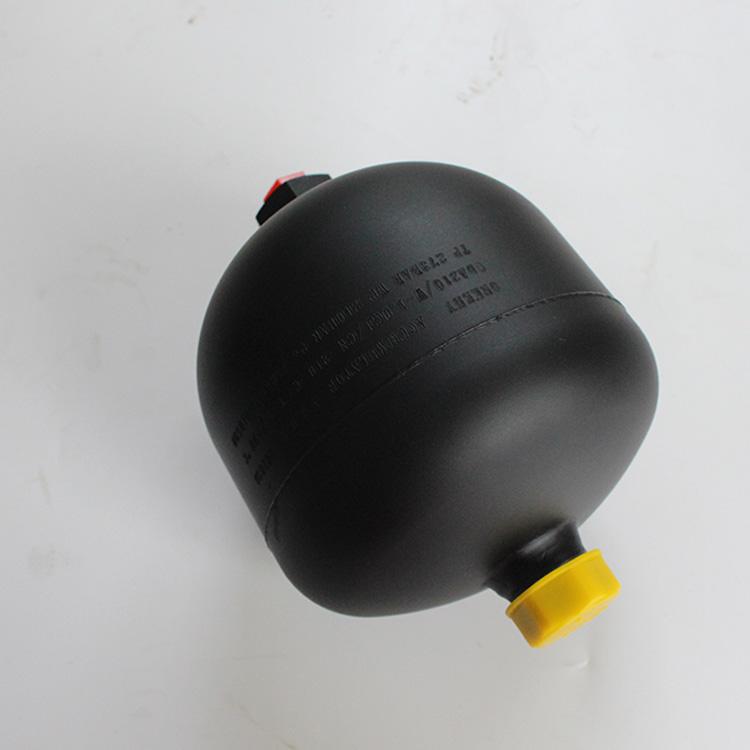 日標隔膜式蓄能器定制_象力液壓_耐高壓_進口_挖掘機_橡膠托環