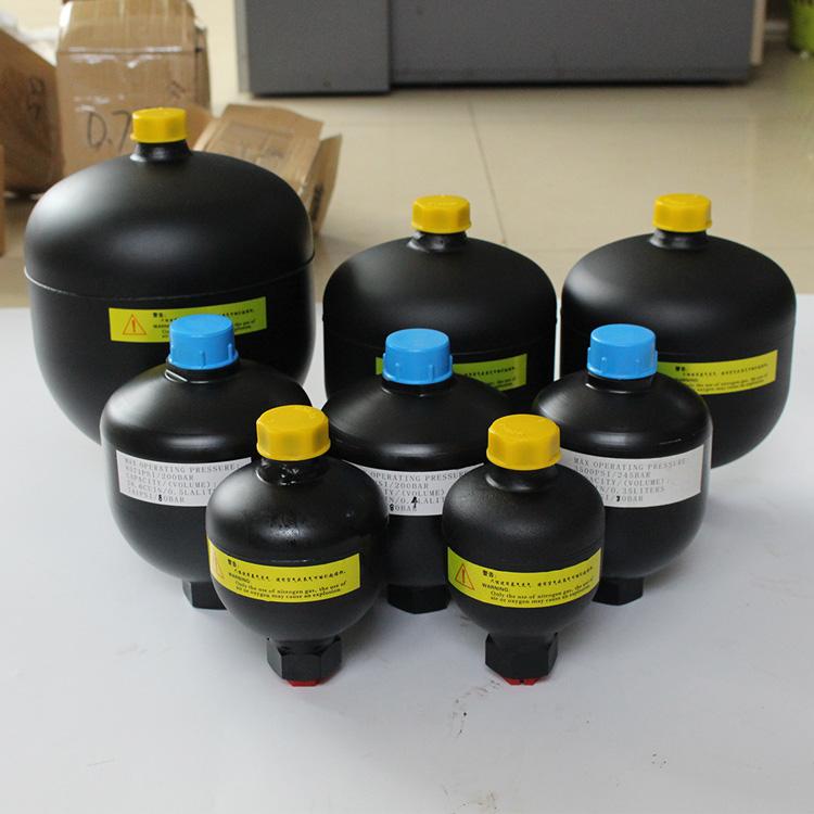 菌型閥蓄能器種類區別_象力液壓_皮囊式_煤礦開采_油壓機_50L