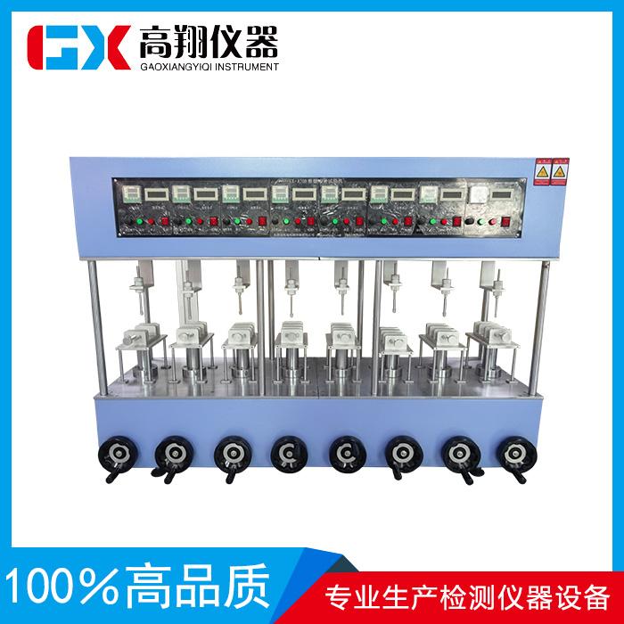 8工位独立控制按键寿命试验机