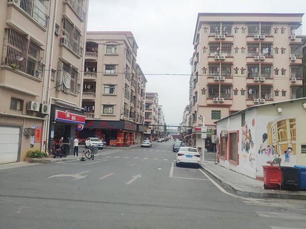 茶山鎮南社村智安小區雨污分流整治工程