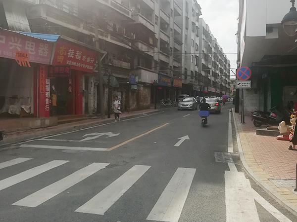 茶山圩彩虹路、羅生街升級改造工程