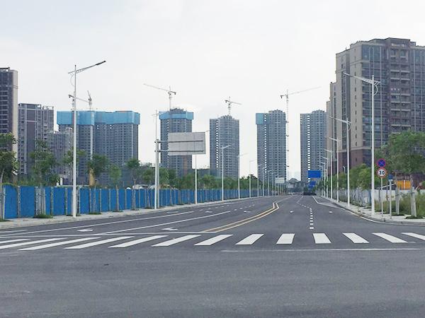 東莞市茶山鎮商貿中心區市政配套工程第三標段(Ⅲ段)工程