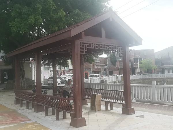 茶山村河涌景觀廣場工程
