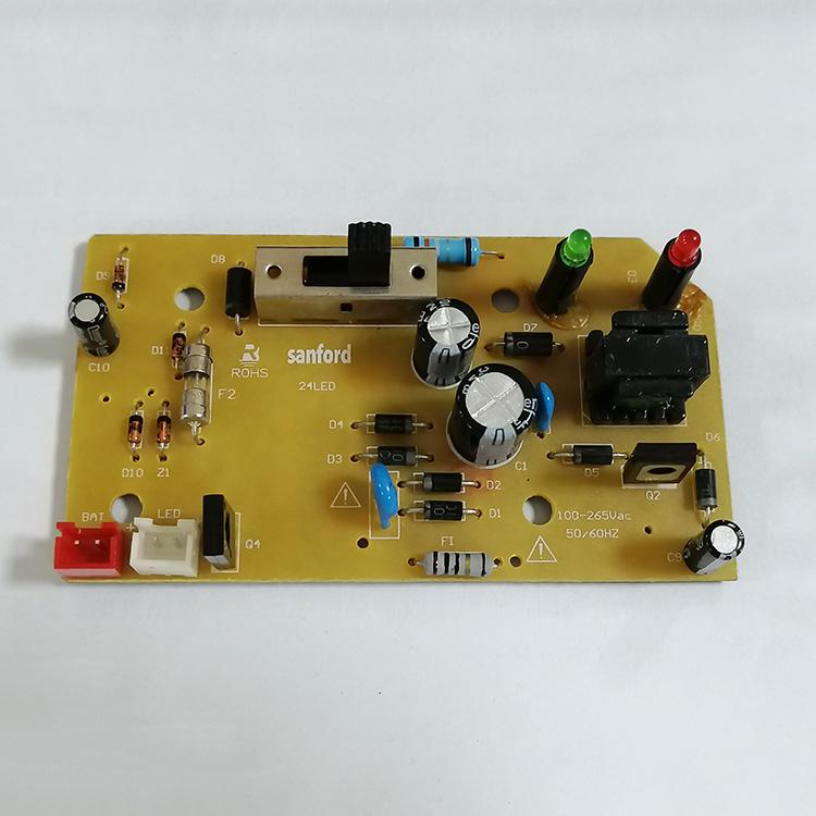 達州PCBA_裕榮電子_無線充主板。_紫外線殺菌主板