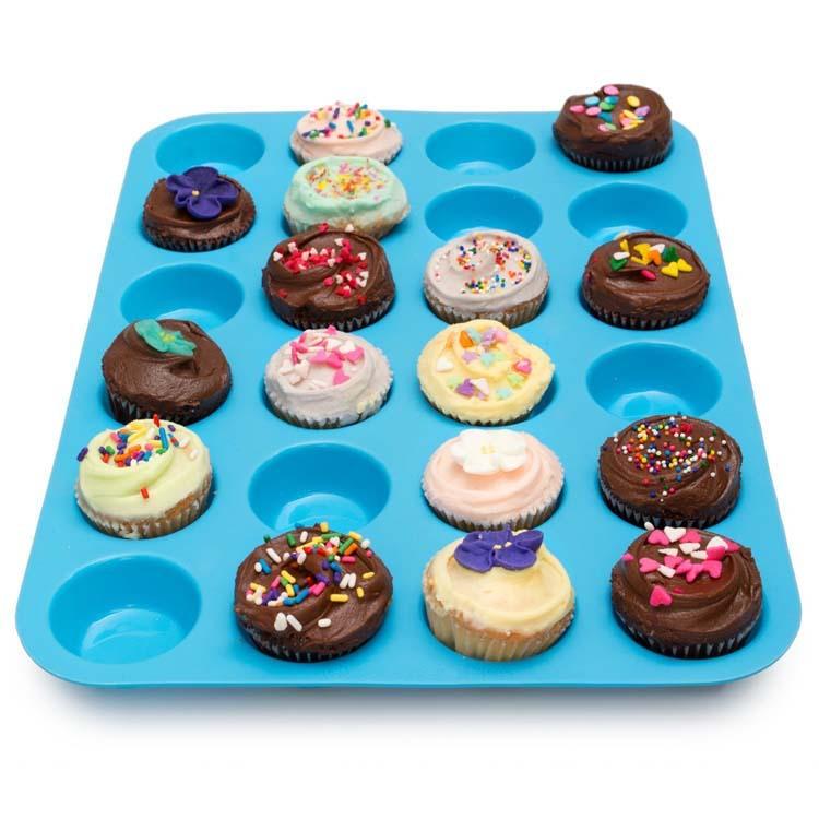 硅膠24格蛋糕模