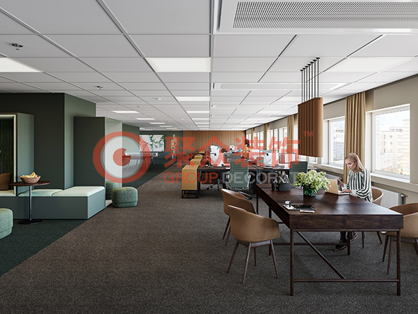 松山湖蕉网公司办公室设计
