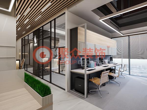 深圳南山CTM公司办公室设计