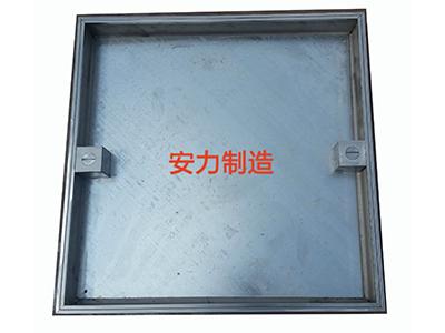 不锈钢包大边隐形装饰井
