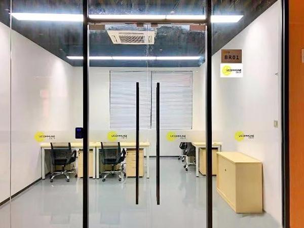 寮步廣場旁辦公,貿易,培訓,電子商務場地分租400平方