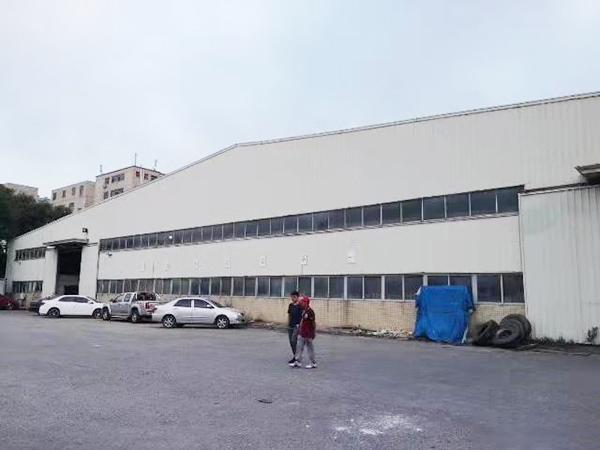 寮步8米高鋼結構廠房出租800平方,可做物流倉庫!