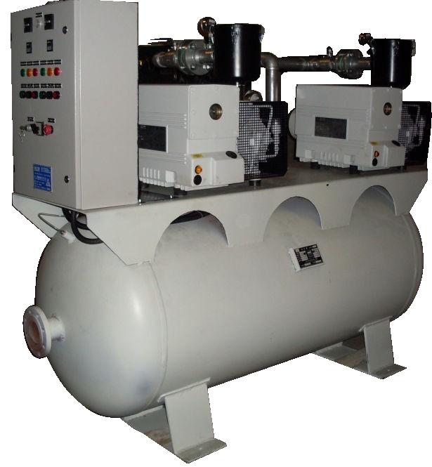 常德工厂真空负压站中心 贝其乐 工厂 轴流泵 超高真空度 试压泵