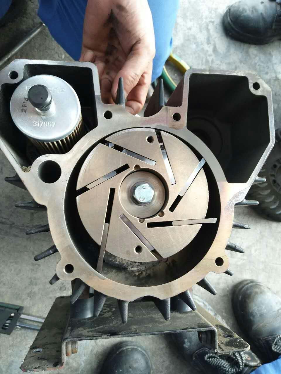 濟南螺桿式真空泵價格如何 貝其樂 DVT3.140 SV65B