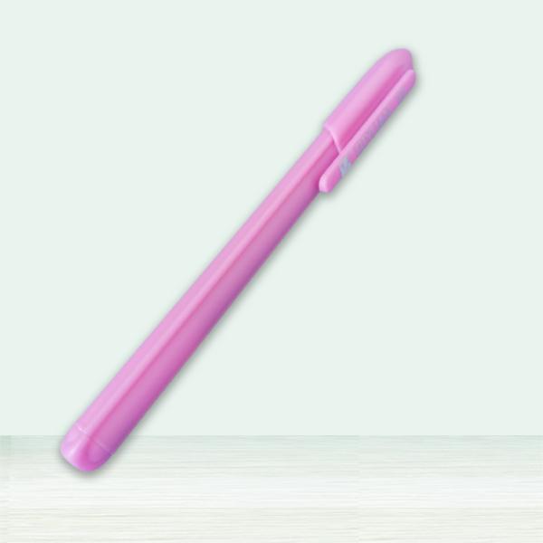 粉色防近視中性筆