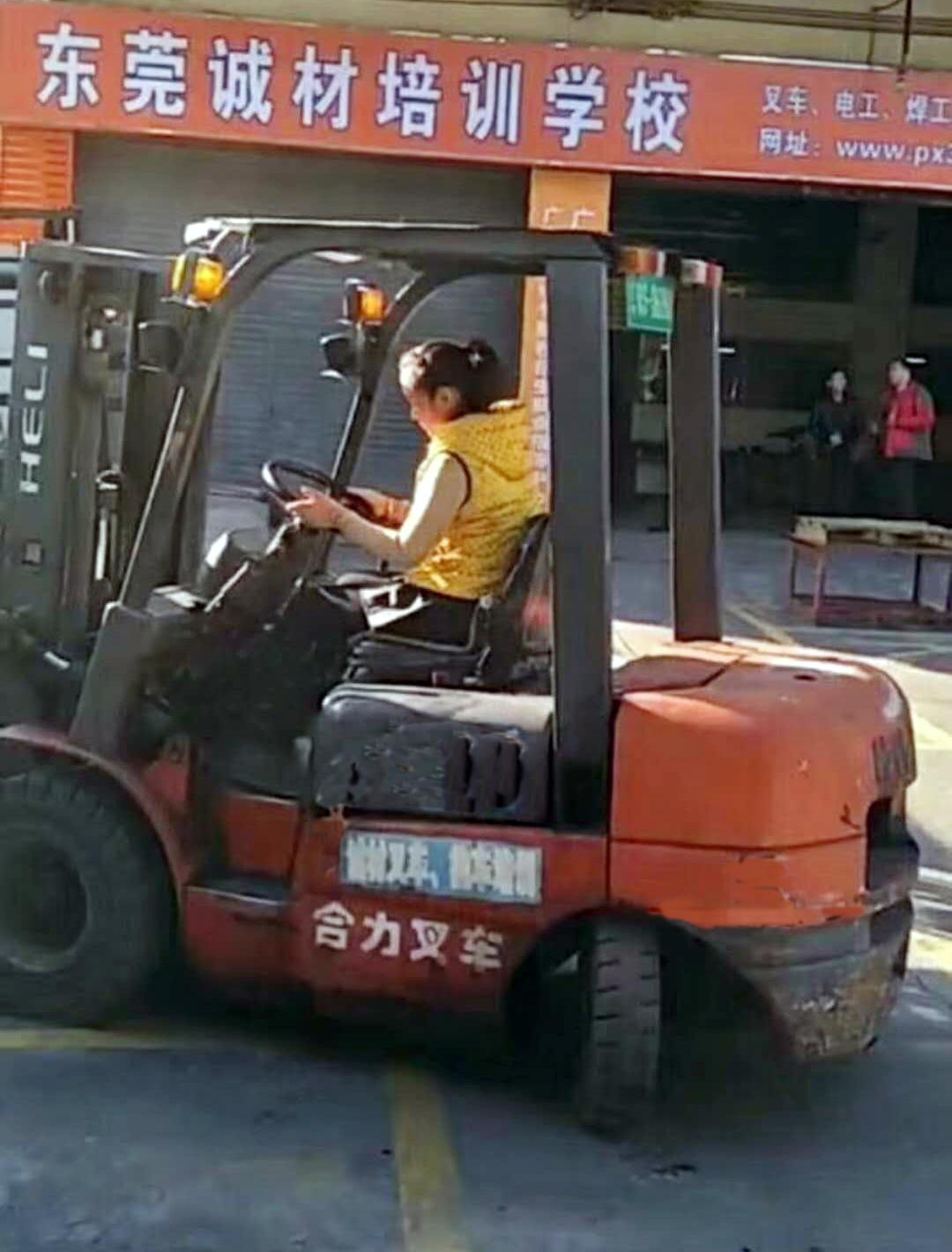长安考叉车培训中心 诚材培训 申请 报名 正规的 关于 大型