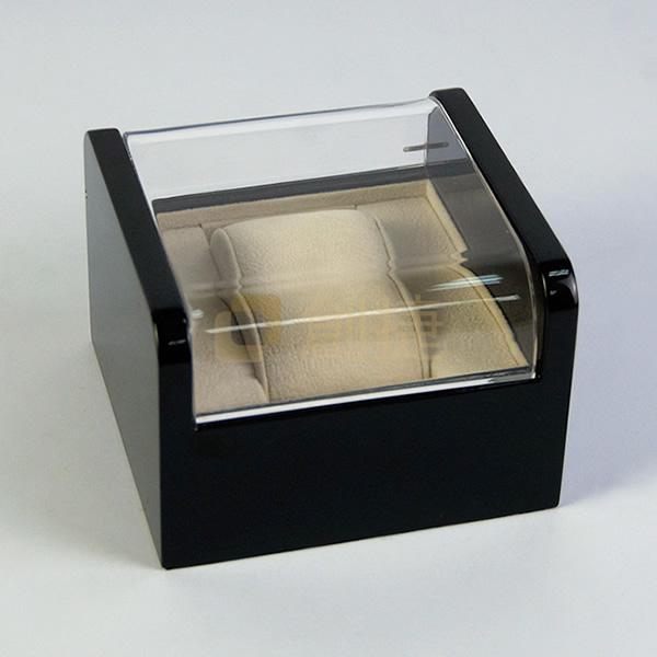 黑色高光木盒