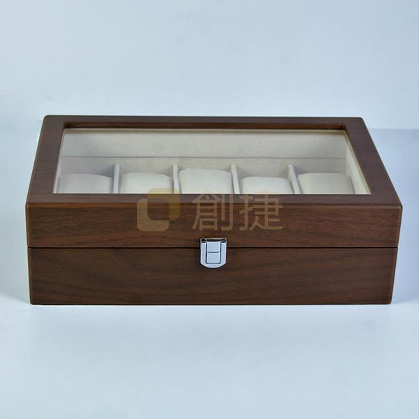 胡桃木紋包裝表盒