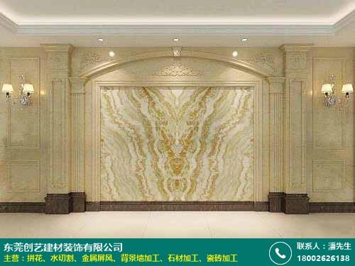 廠家 惠州背景墻加工定制 創藝裝飾