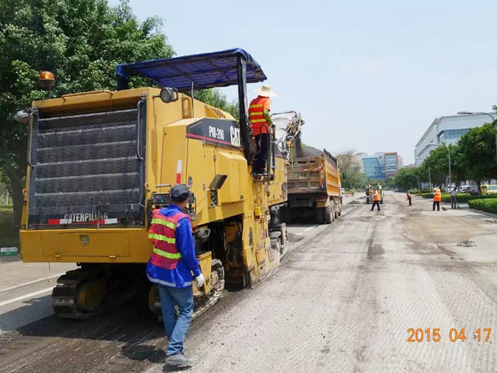 东莞市工厂道路改建工程
