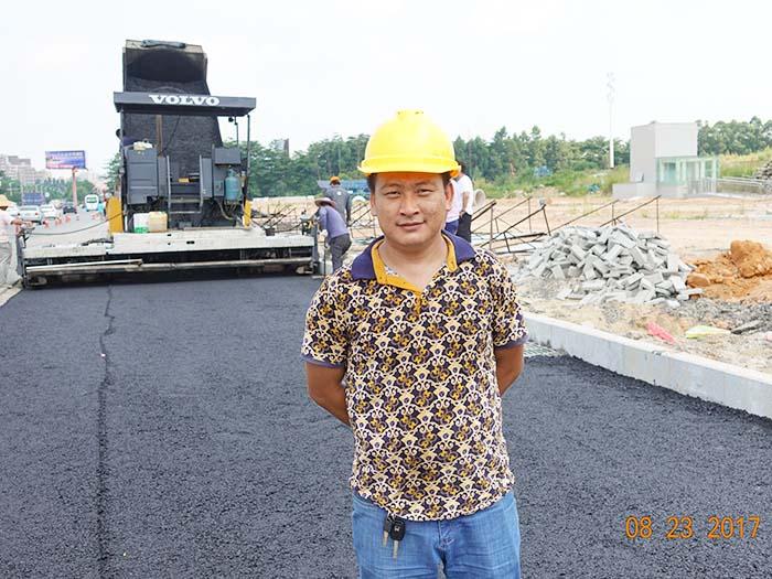 东莞松山湖大道地铁口道路恢复施工工程
