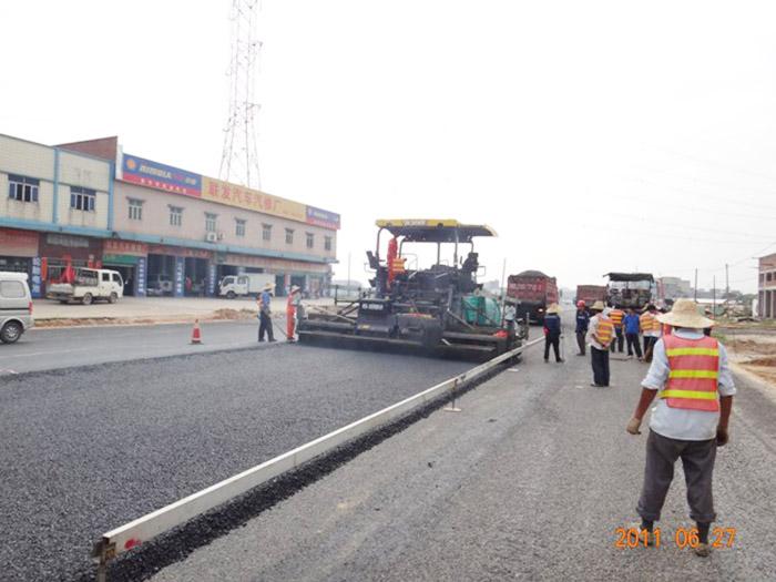 石排大道沥青工程