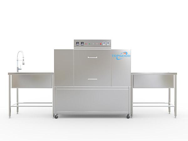 石龍全自動超聲波洗碗機_帝谷自動化_石龍食堂洗碗機好不好用_石龍多功能洗碗機