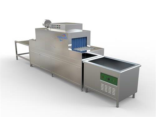 宿迁食堂全自动洗碗机怎么样 帝谷自动化 流水线 消毒 商用 大型