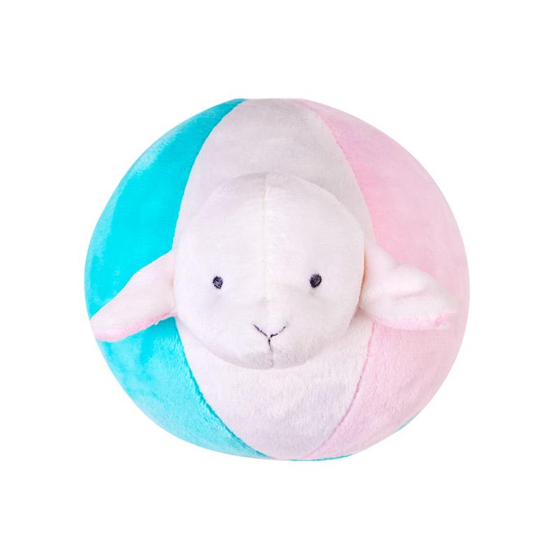 小羊婴儿毛绒球