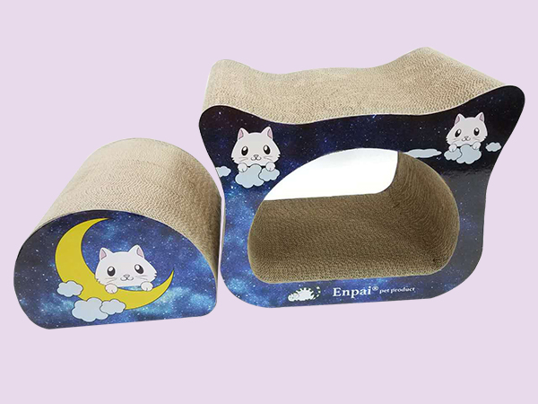 猫头棉鞋的编织教材