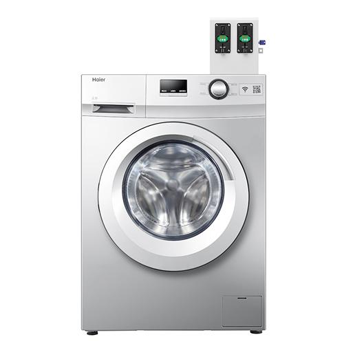 海尔原装8公斤商用滚筒洗衣