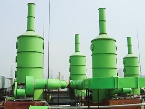 工业酸碱废气治理立式洗涤塔