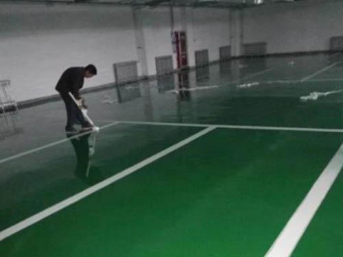 室内_防滑环氧地坪设计_天磊实业