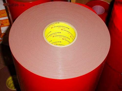 1.2紅膜灰色亞克力泡棉膠帶