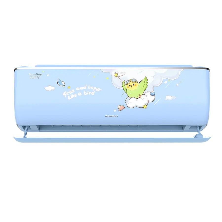 格力(GREE)智慧鳥變頻冷暖大1匹1級能效掛機兒童空調 KFR-26GW(26546)FNhAb-B1(WIFI)(含管)頂(天空藍)