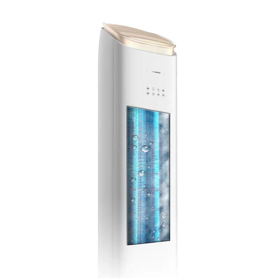 【新國標】格力?王者變頻冷暖2匹1級能效柜機空調 KFR-50LW(50518)FNhAa-B1(WIFI)(含管)頂(皓雪白)