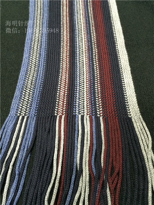 海明新潮欧美风时尚提花针织围巾