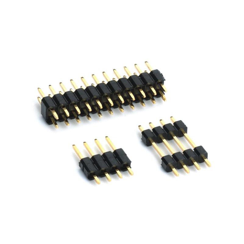 """2.54mm Pitch (.100"""") 直插排針連接器 1"""