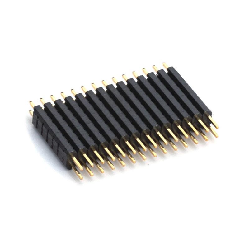 """2.00mm Pitch (.079"""")多塑直插排針連接器"""
