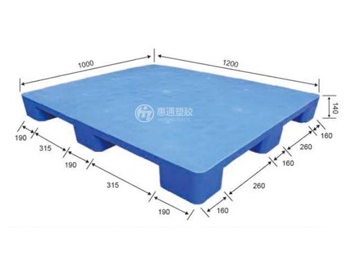 网格塑料卡板生产商_惠通塑胶_结实耐用_网格双面_标准_重型