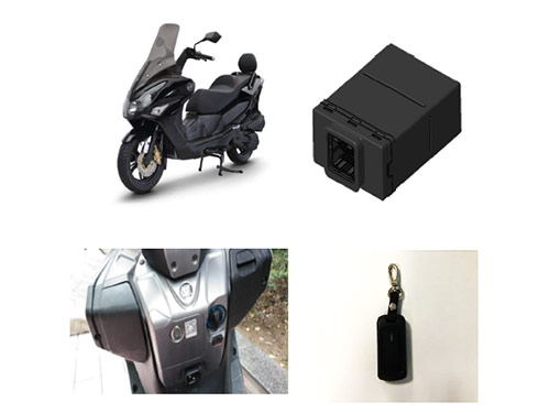 摩托車PKE(無鑰匙進入和一鍵啟動)