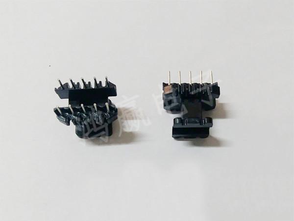 EE22变压器骨架立式5+5