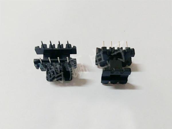 EE25变压器骨架立式4+4