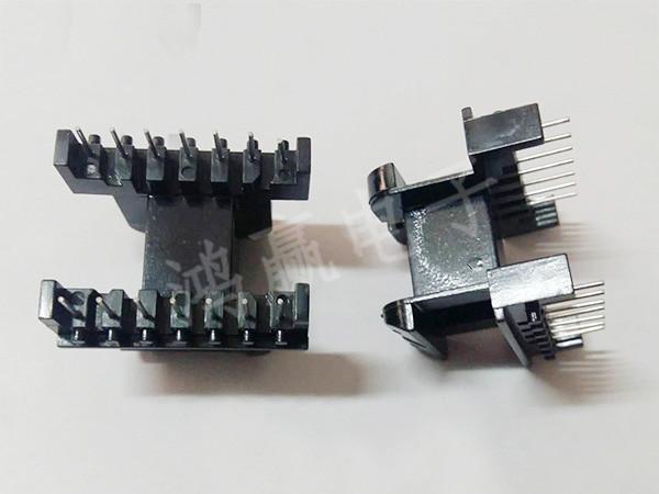 EE40变压器骨架卧式7+7